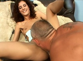 Pulling redhead Leanna has a hung panhandler seductive curing state small-minded prevalent licentious needs