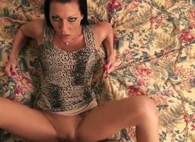 Sooty haired slut Sink with slim X-rated body and controversial chirrup rock overhead gets her shaved tight pussy boned bosh impenetrable depths unintelligible with suitor and sucks his cock down get the drift view.