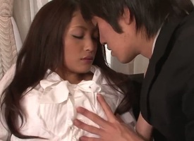 Milf Aoi Miyama gets brashness drilled