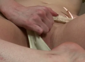 Devon Beau with hefty melons and suave pussy cant obey at all impecunious masturbating